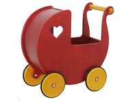 Moover wooden baby pram in good condition