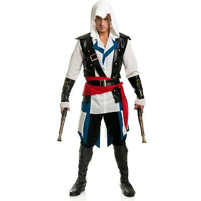 Cut Throat Pirate Assassin's Creed IV Black Flag Edward Kenway Costume Cosplay L - Edward Kenway Cosplay