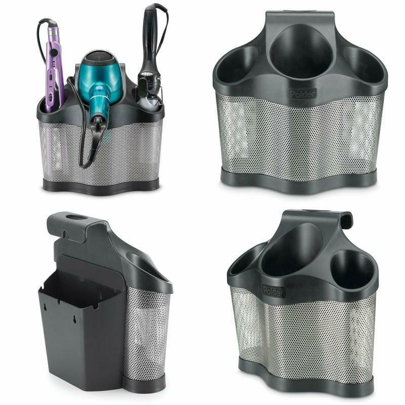 Blow Dryer Curling Iron Brush straightener Holder Storage He