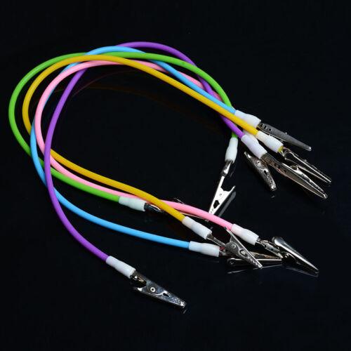 5 Colors! Dental Orthodontics Silicone Instrument Bib Clips Cord Napkin Holders