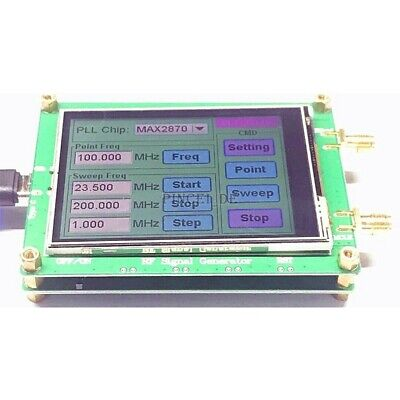 23.5-6000m Rf Signal Generator 0.5ppm Frequency Sweep Touch Screen Pc Control