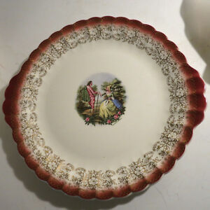 6 Plates Serving Platters European Dishes Floral Christmas Kitchener / Waterloo Kitchener Area image 6