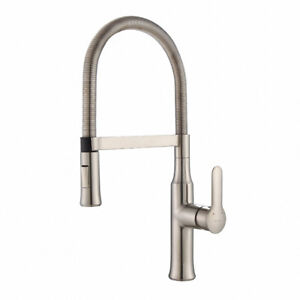 Kraus KPF-1640SS Modern Nola Single Lever Flex Commercial Style