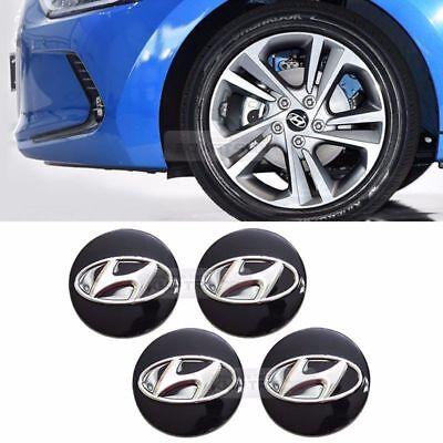 NEW 2001-2006 Hyundai Santa Fe Wheel Center Hub Cap 4PCS P//N 52960 26200 OEM