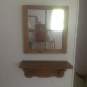 Miroir et tablette antique