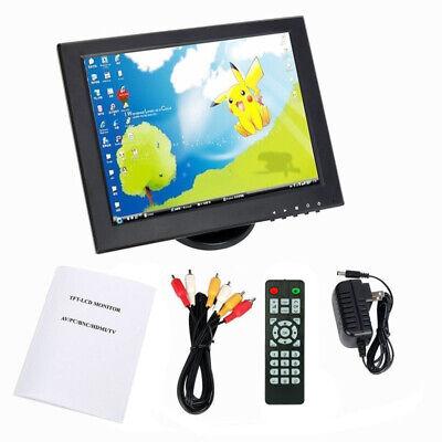 - 12 inch VGA/AV/HDMI/TV/Video input CCTV TFT LCD Monitor Computer Display Screen