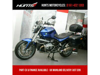 2013, '63 reg. BMW R1200R ABS. Lowered Seat, Panniers & Top Box. £6,995