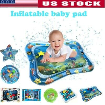 Inflatable Baby Water Mat Play for Kids Children Infants Outdoor Best Tummy
