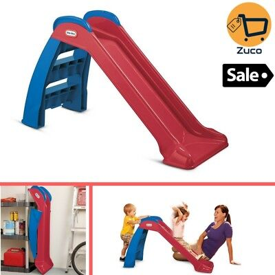 Kids Playground Slides Outdoor Playset For Boy Girl Backyard Physical Activity ()