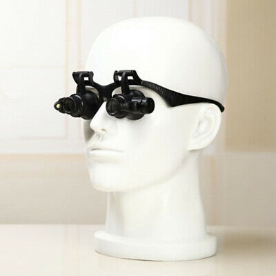 10x15x20x25x Medical Binocular Dental Loupes Optical Glass Surgical Den Huz