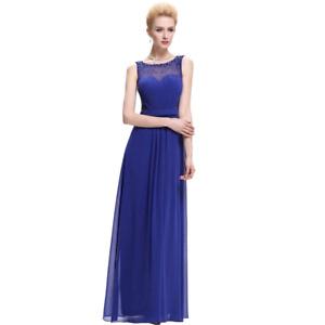 Cobalt Blue Mesh Dress