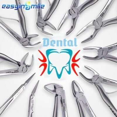 Easyinsmile 1pc Fig Dental For Children Tooth Extraction Forceps Instruments