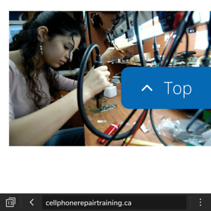 CELL PHONE REPAIR COURSE TRAINING  IN VANCOUVER CANADA