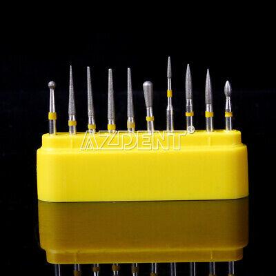 Dental Diamond Burs Composite Polishing Kit Fg-105 For High Speed Handpiece