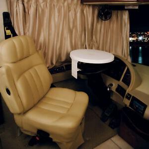 RV / Truck / Tractor Adjustable Steering Wheel Table
