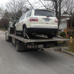 Towing services best rates, (Flatbed towing services)`
