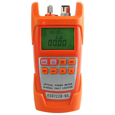 All-in-one Fiber Optic Power Meter -70 To 10dbm And 10km Visual Fault Locator