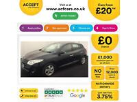 Renault Megane 1.5dCi 110 EDC auto 2011 FROM £20 PER WEEK!