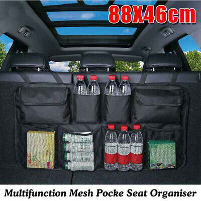 Multifunction Mesh Pocket Hanging Boot Car Seat Tidy Storage Organiser New