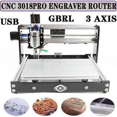 Cnc 3018 Pro Engraving Machine 3 Axis Mini Diy Wood Router Grbl Control W Er11