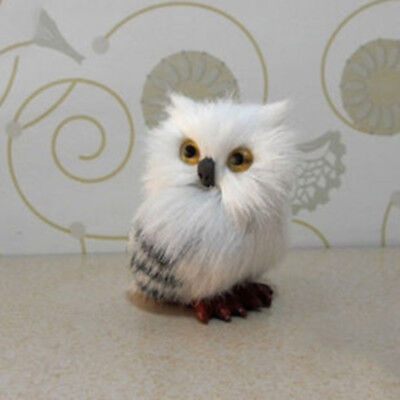 """2.8"""" """"Harry Potter Realistic Hedwig Owl Toy Mini Simulation Model Gift - Harry Potter Owl Hedwig"""
