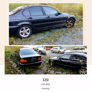 2002 BMW 3-Series parts or repair