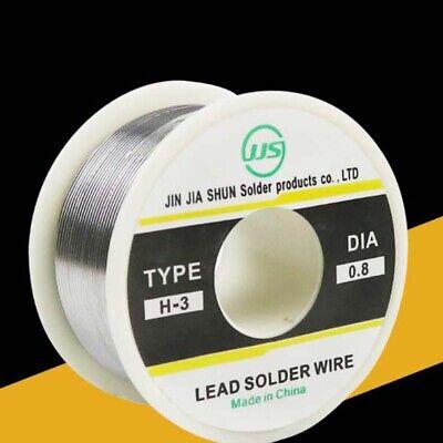 100g 0.8mm 6040 Tin Lead Solder Wire Rosin Core Soldering 2 Flux Reel Tube Lw