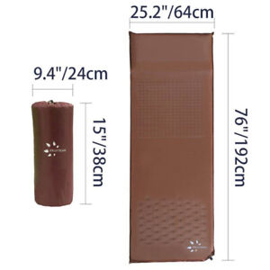 Sleeping Pad Self Inflating Camping Pad Mat with Attached Pillow