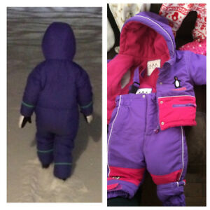 Kids winter clothing snow pants suit Halloween costumes