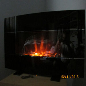 Like New electric fireplace/ heater