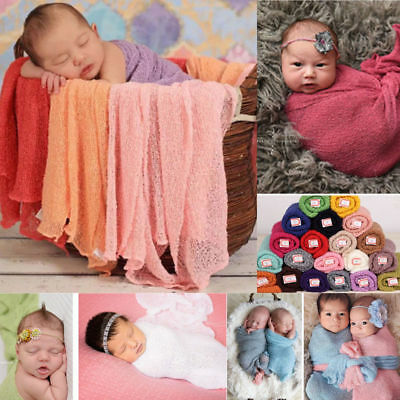 Newborn Photography Props Baby Costume Photo Stretch Blanket  Wraps Stretch US](Newborn Costume)