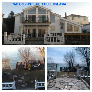 Oshawa Waterfront Lake House Prime Property With a VIEW for SALE