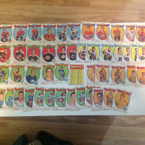 Carte de hockey 68-69  (89 cartes)