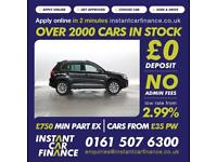Volkswagen Tiguan 2.0TDI BlueMotion Tech DSG SE LOW WEEKLY PAYMENTS £67