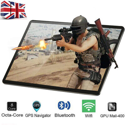 10.1'' Inch Android 8.1 Tablet PC 4+64GB Octa Core Dual SIM Camera GPS Phablet
