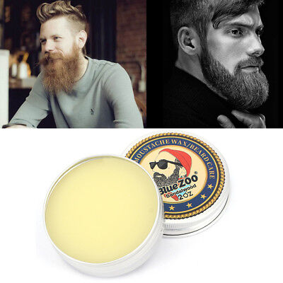 Beard Balm Natural Oil Conditioner Beard Care Moustache Wax Men Grooming Kit Hlc