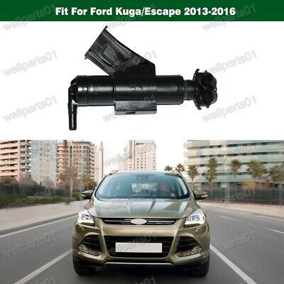 1Pcs Left Headlight Washer Jet Nozzle LH for Ford Kuga 2013-2016