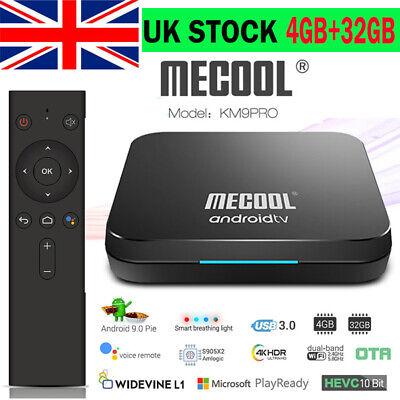 MECOOL KM9 Pro Smart Android 9.0 TV Box 4GB+32GB BT4.0 Dual Wifi 4K Media Player