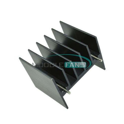 Black Heat 10pcs 25x30.3x25mm IC Sink For L298N LM7805 25x30x25 Heatsink