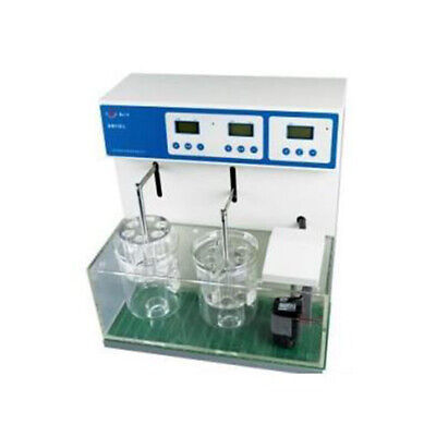 Double Cups Equipment Tablet Disintegration Tester 110v 600w Lab Equipment New