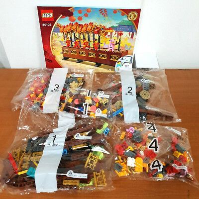 LEGO 80102 Dragon Dance 2019 ASIA EXCLUSIVE 622 Pieces Star Set Box