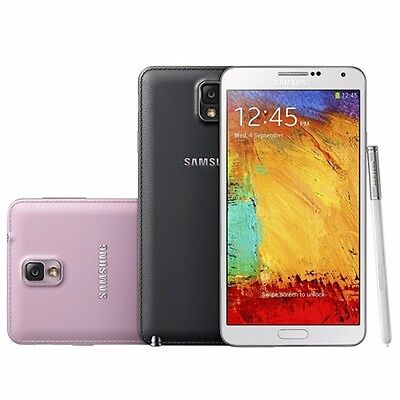 Sealed! Samsung Galaxy Note 3 III N900 AT&T Unlocked GSM Phone - 4G LTE T-Mobile