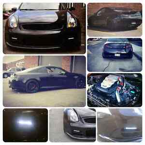 NO TRADE!! MODDED INFINITI G35 COUPE 2003 AUTOMATIC BODYKIT. NAV
