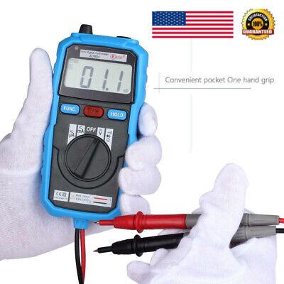Us Adm06 Professional Auto Range Digital Backlight Multimeter Acdc Voltmeter Us