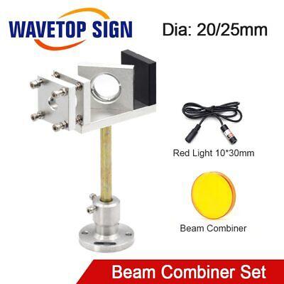 Beam Combiner Set 2025mm Laser Beam Combiner Mount Laser Pointer For Cutting