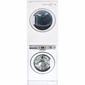 """Blomberg 24"""" Stackable Laundry Pair, only $1690.00!"""