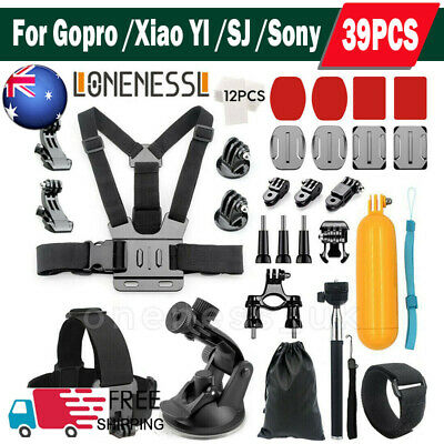 Professional For GoPro Hero 7 6 5 Accessories Kit Action Camera Mount Bundle UK