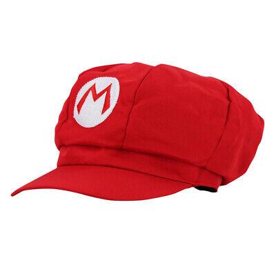 Super Mario Mütze Rot Handschuhe Erwachsene Cosplay Hut - Super Mario Hut Kostüme
