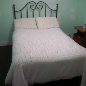 Double Bed, Box-Spring/Mattress/Frame/Headboard