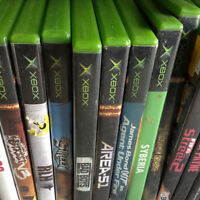 Assorted Xbox games   5.00 each   Buy 4 get one free
